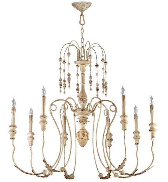 french country wooden chandelier mini shades chandeliers white