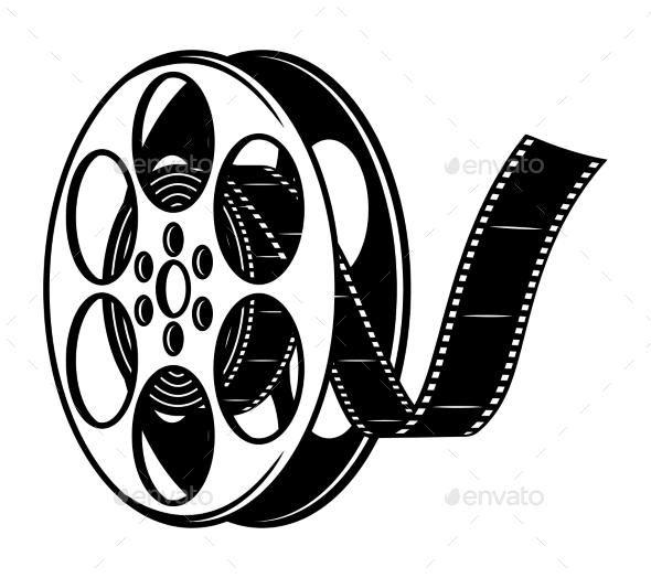 Vintage Film Reel Concept Vintage Film Reel Film Reels Vintage Film