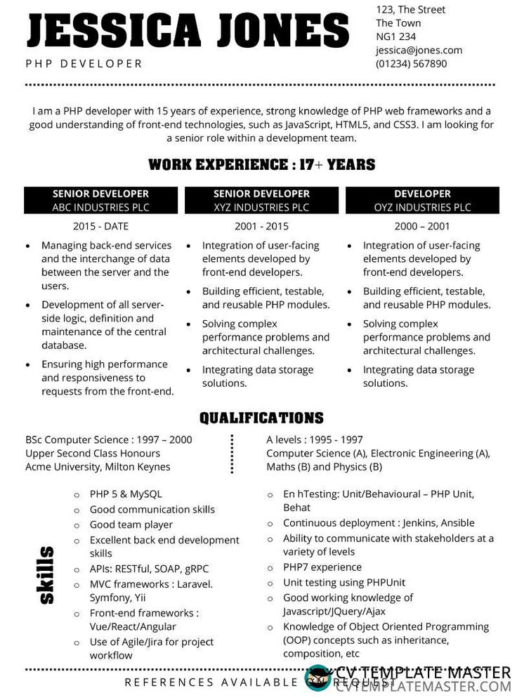 Acme free cv template in ms word format cv template