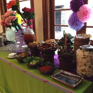 Traditional Buffet at Kid's Party