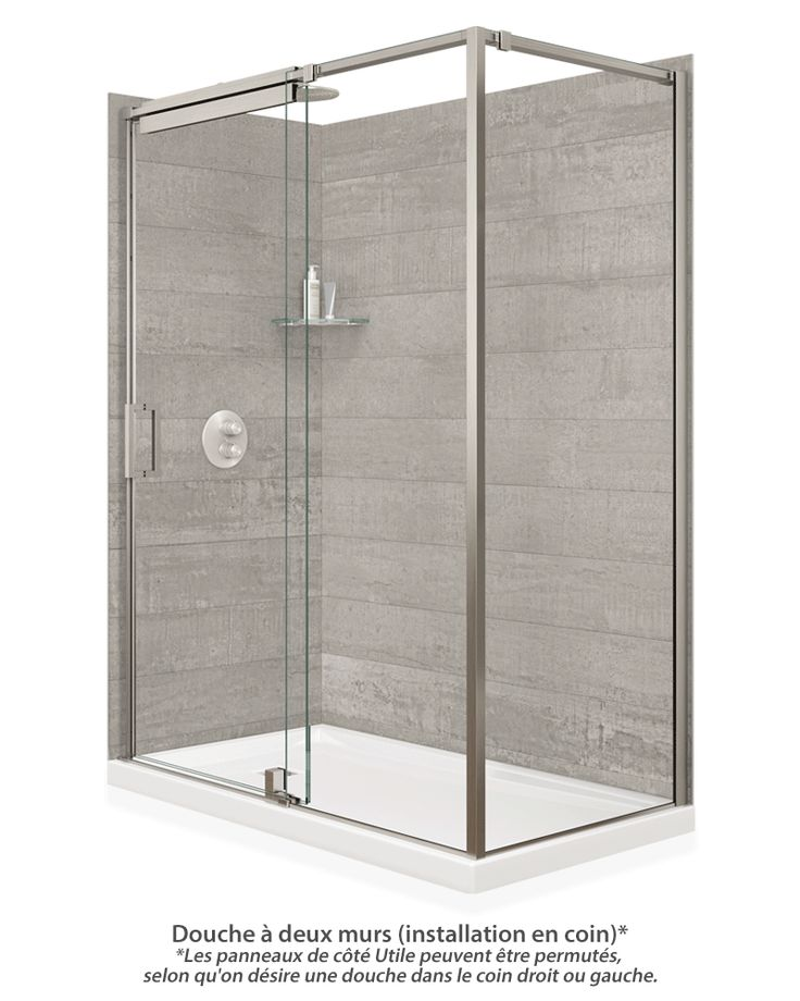 7 best shower panel systems images on pinterest bathroom - Panneaux composite pour salle de bain ...