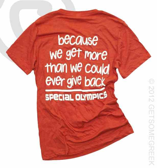 Alpha Sigma Alpha loves supporting Special Olympics! love this shirt