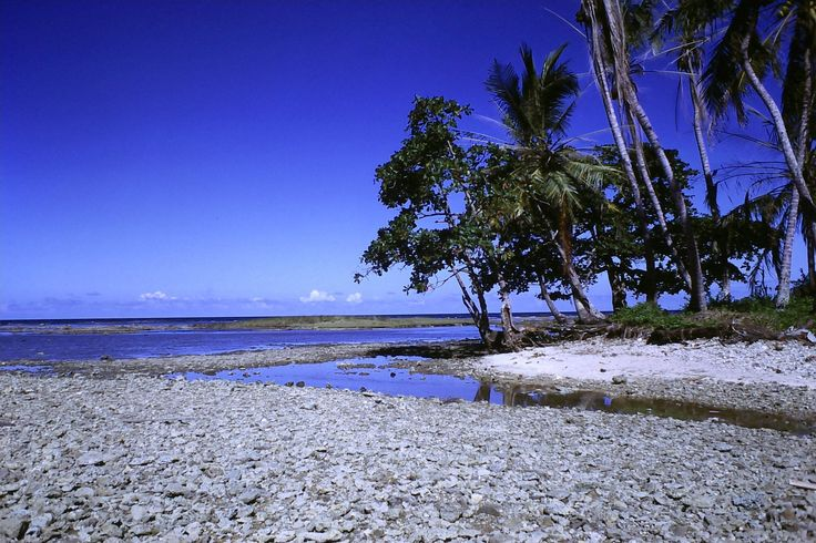Rocky beach near Puerto Limon