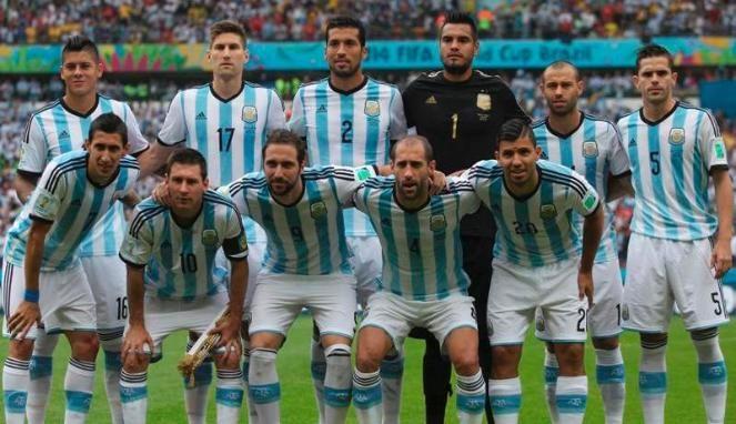 daftar pemain skuad timnas argentina yang akan bermain di copa america 2017 centenario formasi dan susunan lengkap 23 dibawa oleh pe