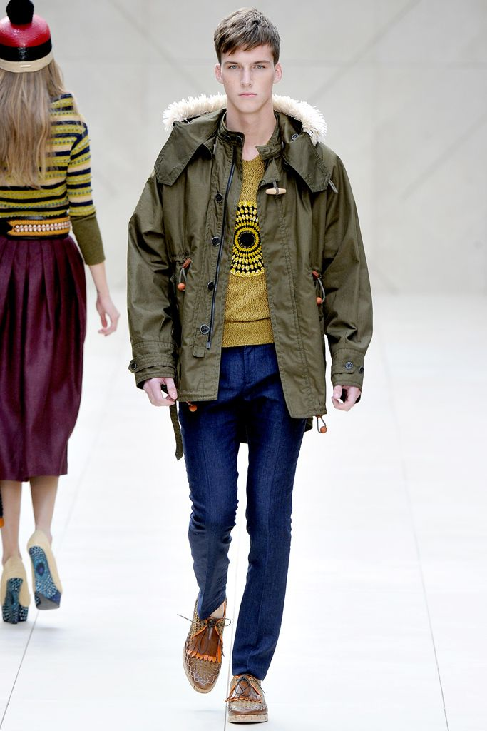 Burberry Prorsum Spring 2012 Ready-to-Wear - Collection