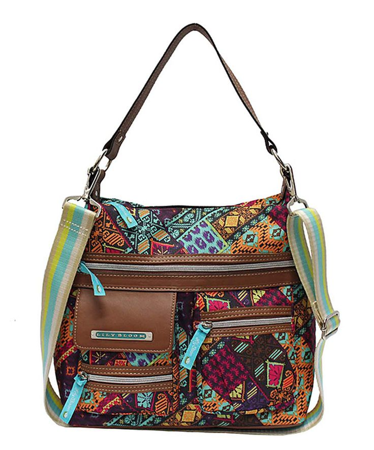 This Lily Bloom Patched Shapes Jessy Hobo by Lily Bloom is perfect! #zulilyfinds