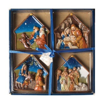 Nativity 3D - In Decorative Gift Box - Mini Plates Christmas CINAMP | Manual Woodworkers  sc 1 st  Pinterest & 28 best Mini Plates images on Pinterest | Dinner plates Dish and Dishes