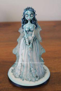 Corpse Bride doll cake tutorial - CakesDecor