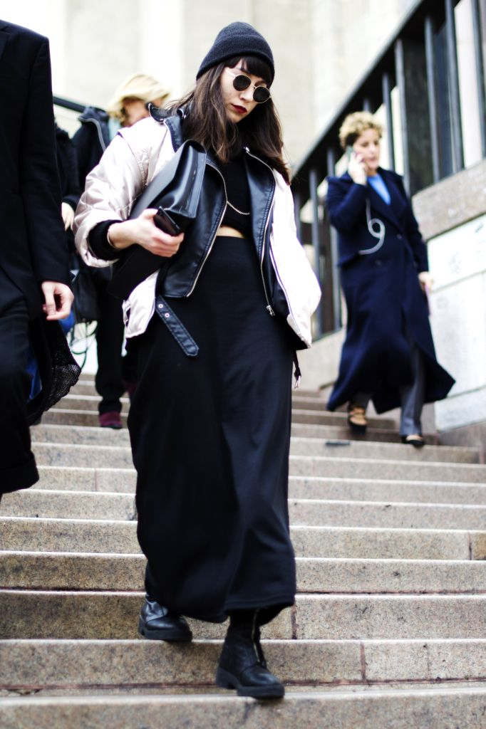 STREETSTYLE MFW FEB 16 ALESSIA ENDRIGHI