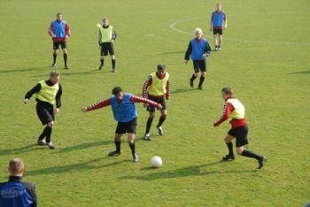I train every Thursday football