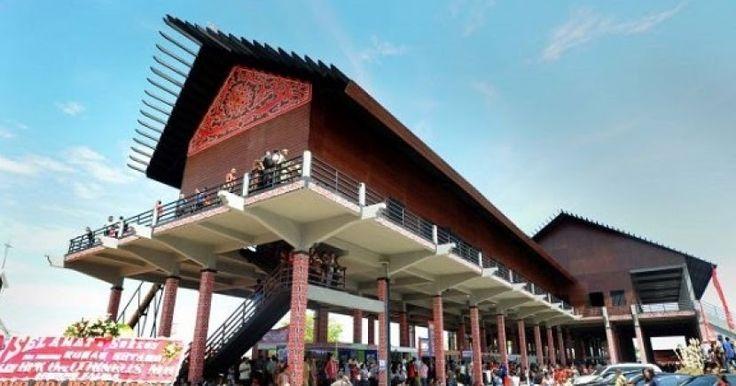 Wisata Budaya Rumah Adat Balikpapan Tradisional