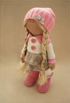 Mimin Dolls: Molde bonecas patas largas
