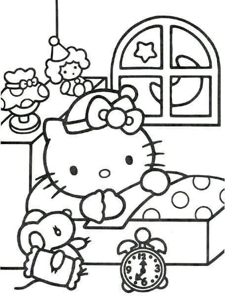 18 Best Hello Kitty Para Pintar Images On Pinterest Car Decal Chris Brown Para Colorir