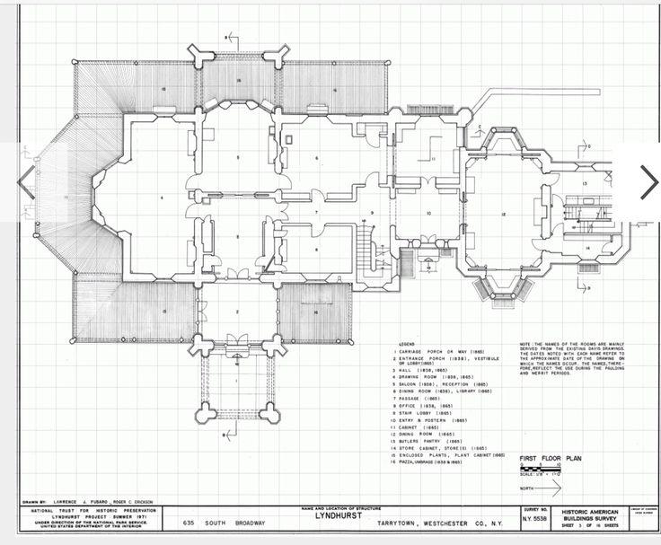 Lyndhurst 1st Floor Gilded Age Mansions