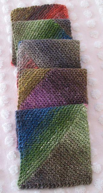 Ravelry: Multidirectional Diagonal Scarf pattern by Karen Baumer