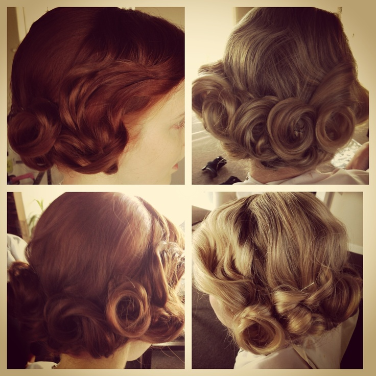 Vintage hairstyle Great Gatsby Bridal Fashion Show. girlmeetsbongga.com