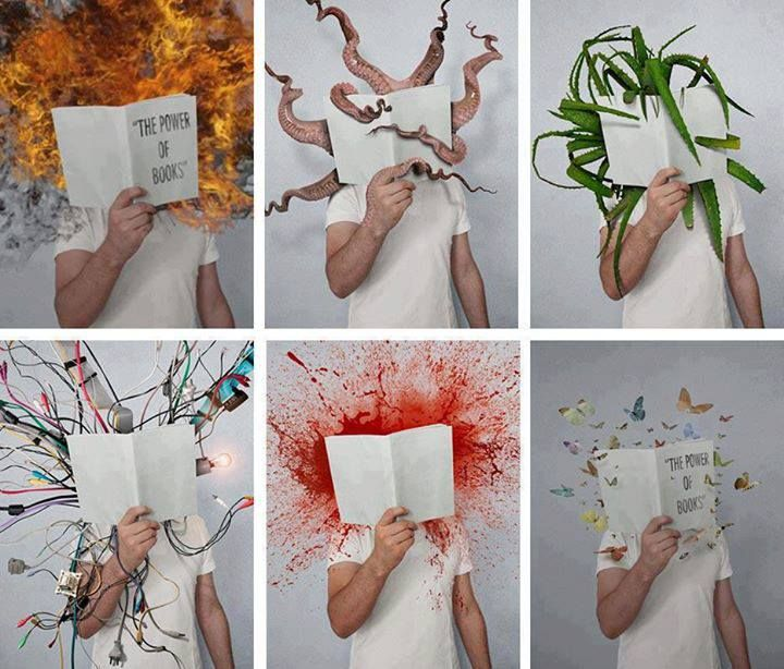 The Power of Books - genialne! ♥ Artysta: Mladen Penev