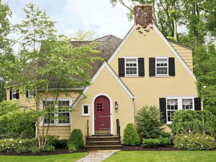 best 25+ yellow houses ideas on pinterest | yellow house exterior