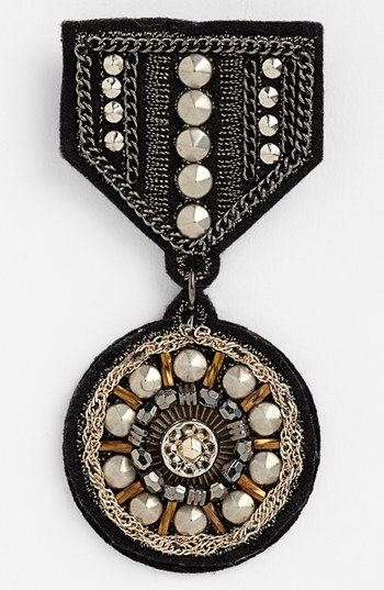 Cara 'Special Military' Embellished Pin available at #Nordstrom