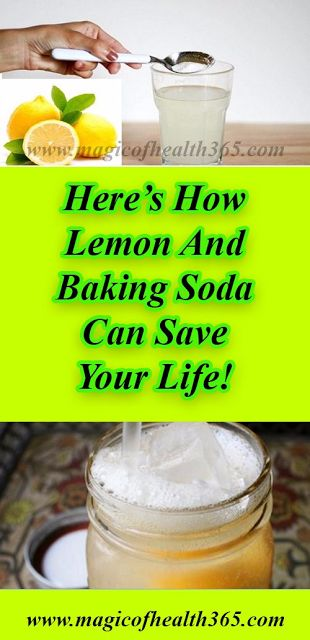 HERE'S HOW LEMON AND BAKING SODA CAN SAVE YOUR LIFE!