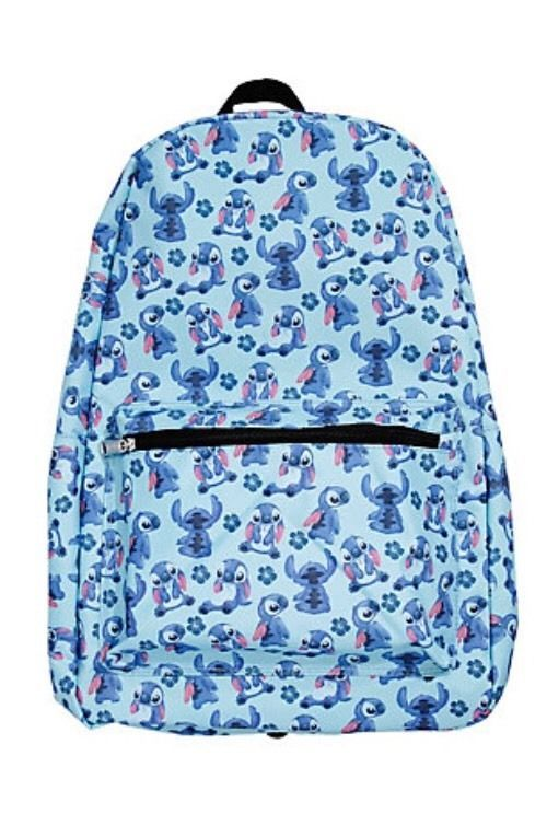 Disney Lilo Stitch Tossed Print School Book Bag Backpack Rare New With Tags