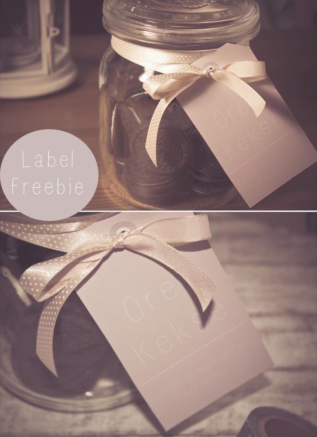 Lililotta The Blog: FREEBIE/Label