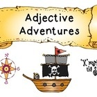 This fun game is all about adjectives with a pirate theme!  Common core aligned