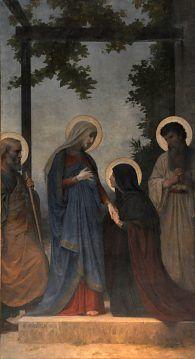 «La Visitation» William Bouguereau (1825-1905