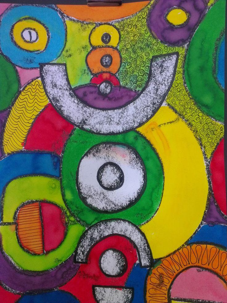 Once upon an Art Room: crayon rubbing Collographs