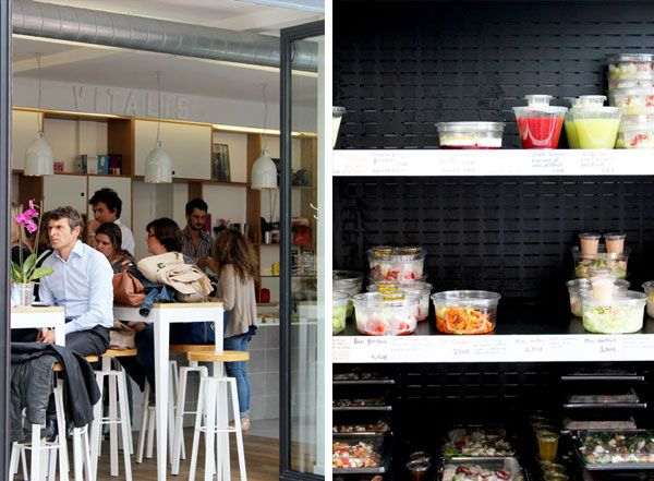 When I am in the Talentsoft main office in Paris I prefer to get my lunch from Vitalis located on Rue de Billiancourt. Here you can get a salat, coca cola and one of their good cakes for 10.5 euros. I miss their cake.
