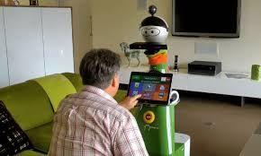 Afbeeldingsresultaat voor humanoid robot old people