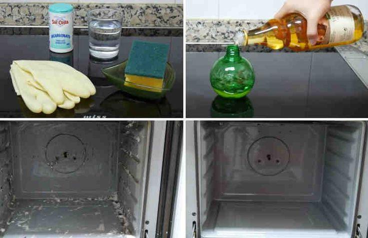 """En el artículo de hoy os enseñamos a limpiar el horno de dos maneras. La primera es un método """"casero y natural"""". La otra forma es con un producto especial para hornos y al ser un producto químico recordar que antes de volver a utilizar el horno habremos de encenderlo 5 min a 50 grados para eliminar"""