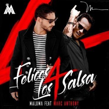 Maluma Ft. Marc Anthony – Felices Los 4 (Salsa Versión) - https://www.labluestar.com/maluma-ft-marc-anthony-felices-los-4-salsa-version/ - #4, #Anthony, #Felices, #Ft, #Los, #Maluma, #Marc, #Salsa, #Version #Labluestar #Urbano #Musicanueva #Promo #New #Nuevo #Estreno #Losmasnuevo #Musica #Musicaurbana #Radio #Exclusivo #Noticias #Top #Latin #Latinos #Musicalatina  #Labluestar.com