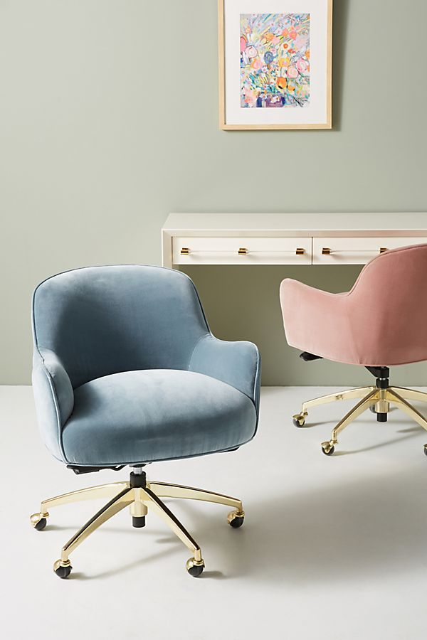 Camilla Swivel Desk Chair Swivel Chair Desk Furniture Living Room Chairs