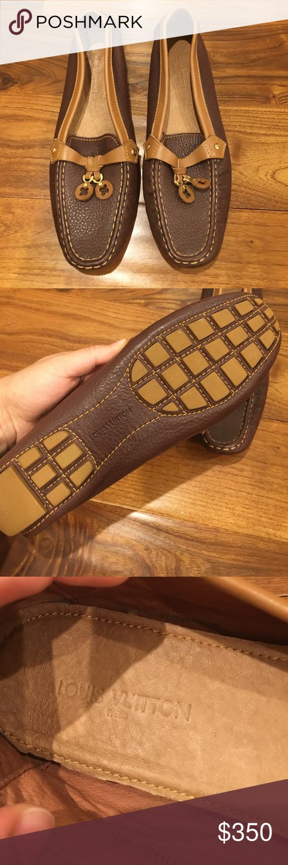 Louis Vuitton Loafers Authentic Louis Vuitton Loafers NEVER WORN!! Louis Vuitton Shoes Flats & Loafers