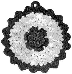 Rose Potholder | Crochet Patterns ~ free pattern - this site also has lots of other free patterns