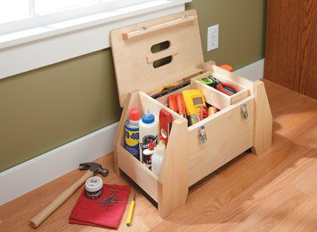 Build this Utility Tool Tote from Woodsmith Plans