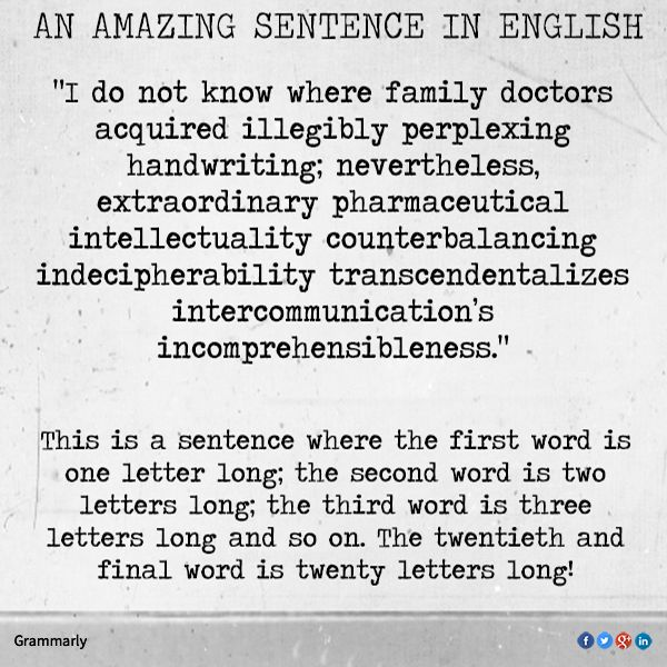 17 Best Ideas About Sentences In English On Pinterest