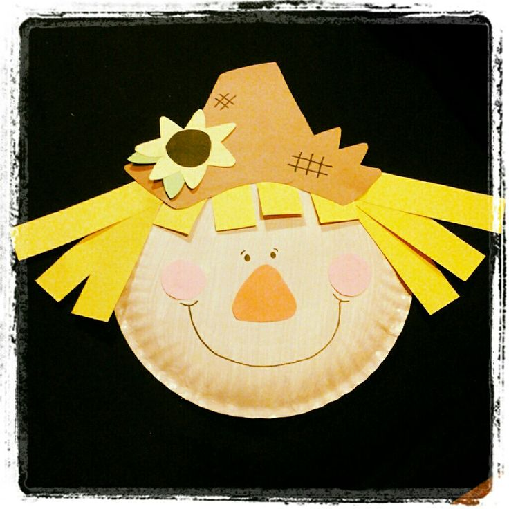 Scarecrow craft for artic and other groups