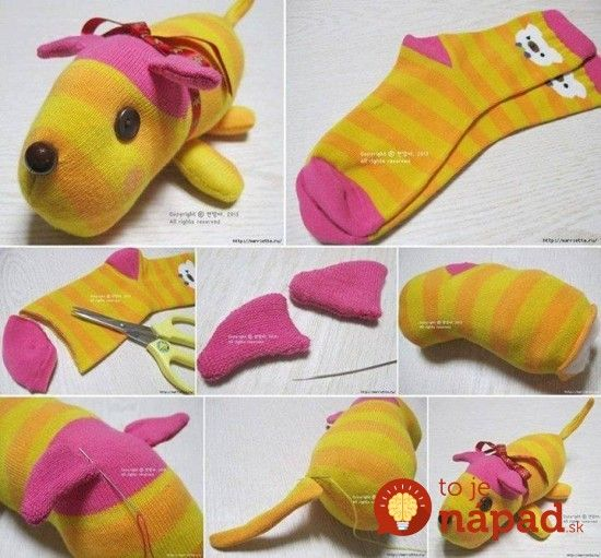 diy-sock-dog-550x511