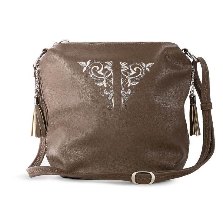 Кожаная сумка «Соната» | Tizetta | Торжокские золотошвеи