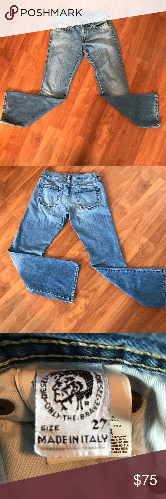 Diesel boot cut jeans. Diesel boot cut jeans. Excellent condition, previously worn. Comfortable. Comes from smoke free home.                                         🎉‼️Get a free item with purchase. Check out my Free item listings and let me know what you'd like to pair this with and I'll create a new listing for you with your free item! Happy Poshing! ❤️👠🙏🏻☮️ Diesel Jeans Boot Cut