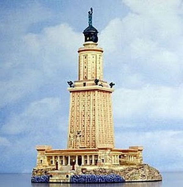 Famous Lighthouses | Alexandria's Lighthouse - Historically Famous - Lighthouse Images