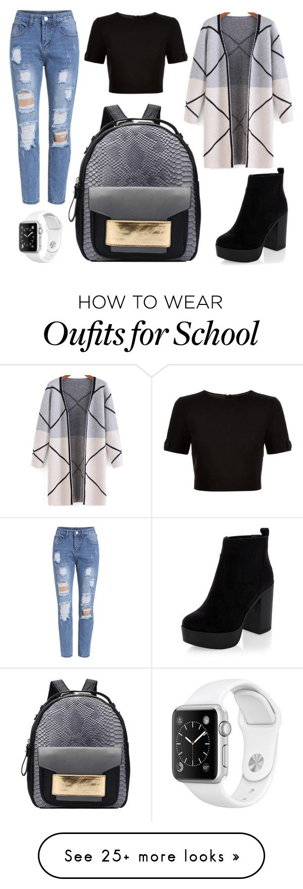 """""""School Day"""" by susanna-trad on Polyvore featuring Ted Baker"""