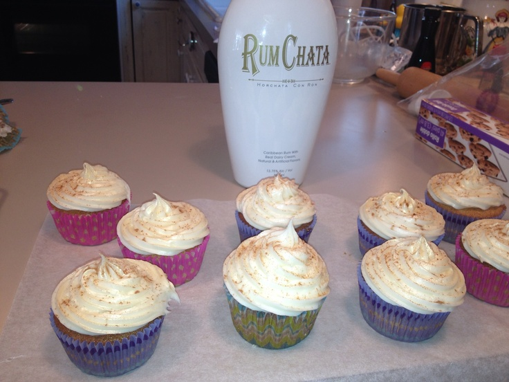Rumchata Cupcakes Recipe With Cake Mix