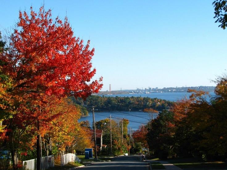 Autumn in Bedford, Nova Scotia