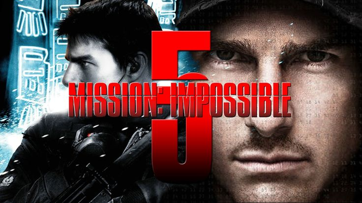 DVD Mission Impossible 5 Copy