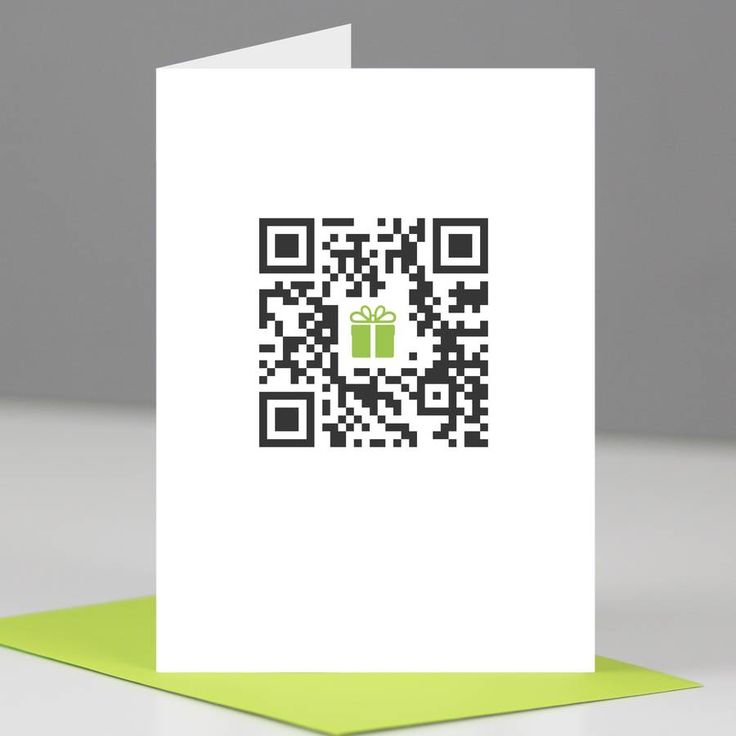 'Happy Birthday' Qr Code Card