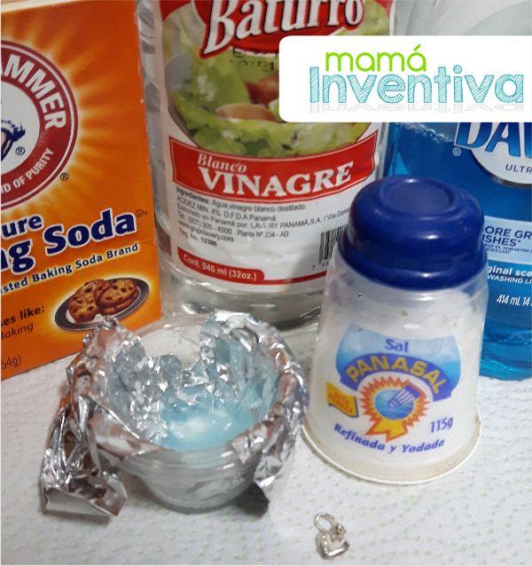 Como limpiar joyeria de plata en Casa