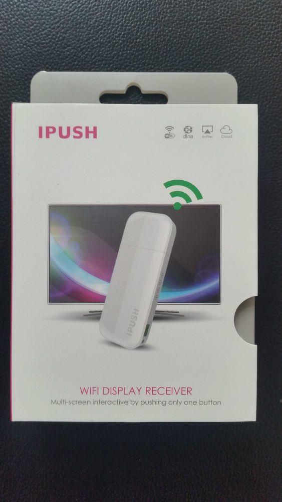 iPush Wifi TV Diffusseur USB Récepteur AirPlay DLNA pour Smartphone Tablette PC